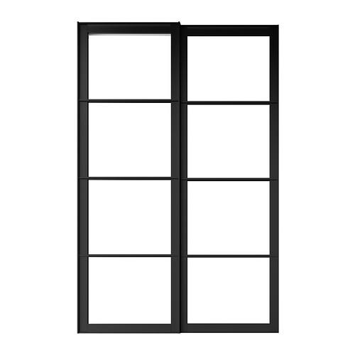 PAX 2 estruct+riel p/puertas correderas