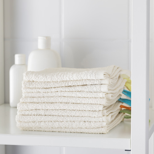 KRAMA toalla pequeña, juego de 10