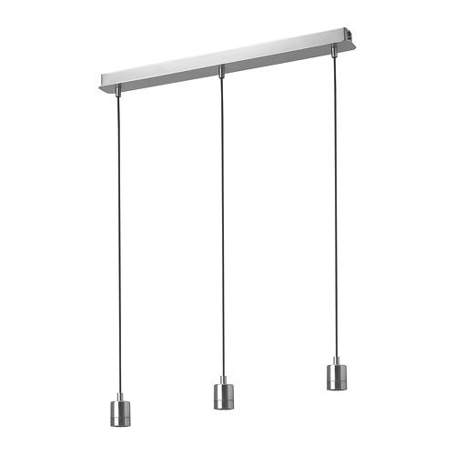 SKAFTET montura lámpara techo 3 cables
