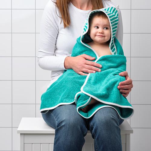 RÖRANDE toalla con capucha