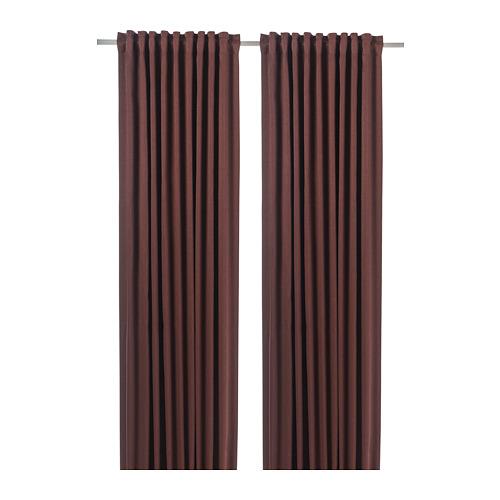 BLÅHUVA cortina, par