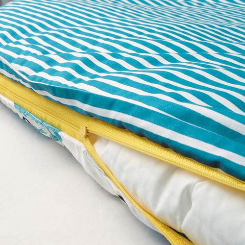 RÖRANDE funda nórdica y funda almohada para cuna