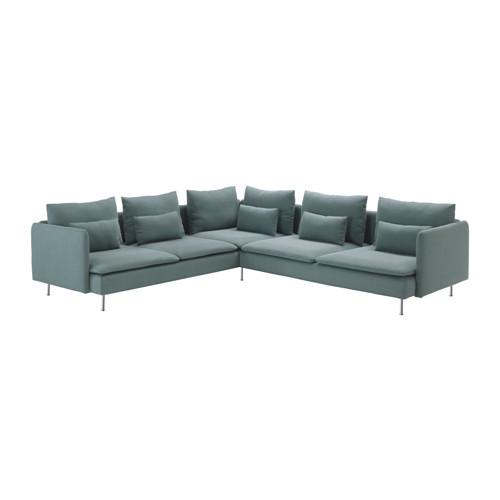 SÖDERHAMN sofá de esquina 6