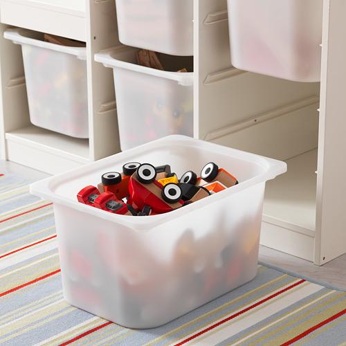 TROFAST Combinación de armario y estantería