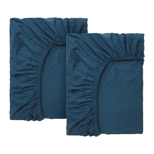 LEN sábana ajustable  cama extensible juego 2 unidades, 80cm