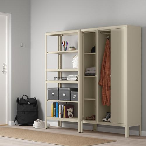 KOLBJÖRN estantería con armario