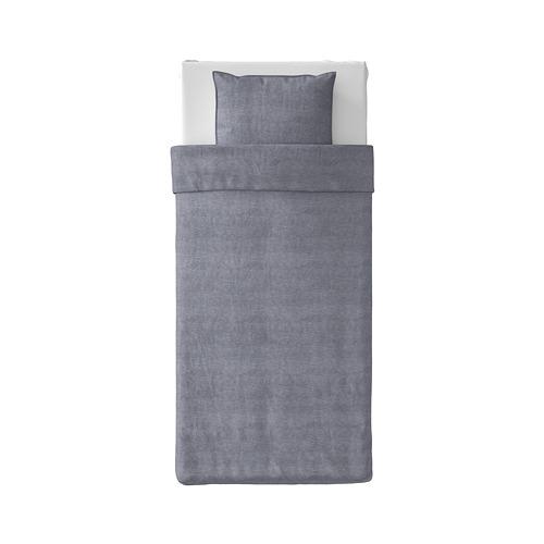 KOPPARBLAD funda nórdica para cama individual y funda de almohada, 150x200cm y 50x60cm, 118 hilos