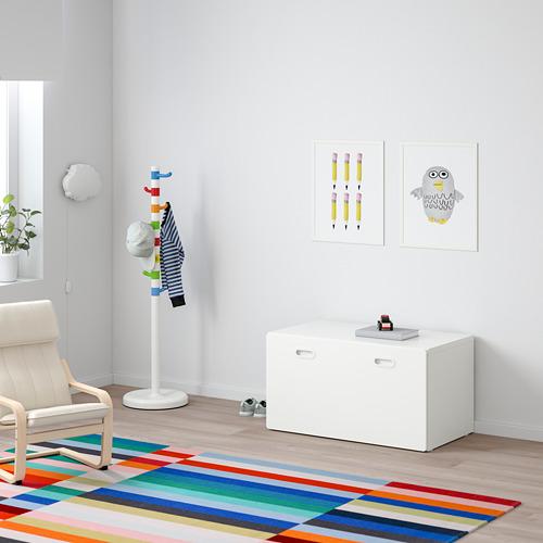 FRITIDS/STUVA banco con almacenaje juguetes
