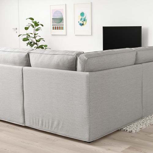 KIVIK sofá U 7 plazas