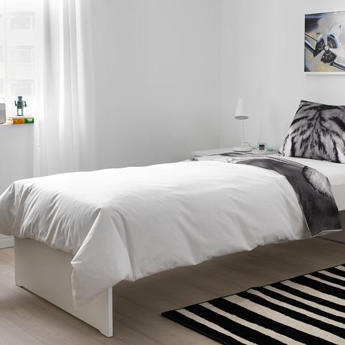 URSKOG funda nórdica y funda almohada, 166 hilos, 80 y 90cm