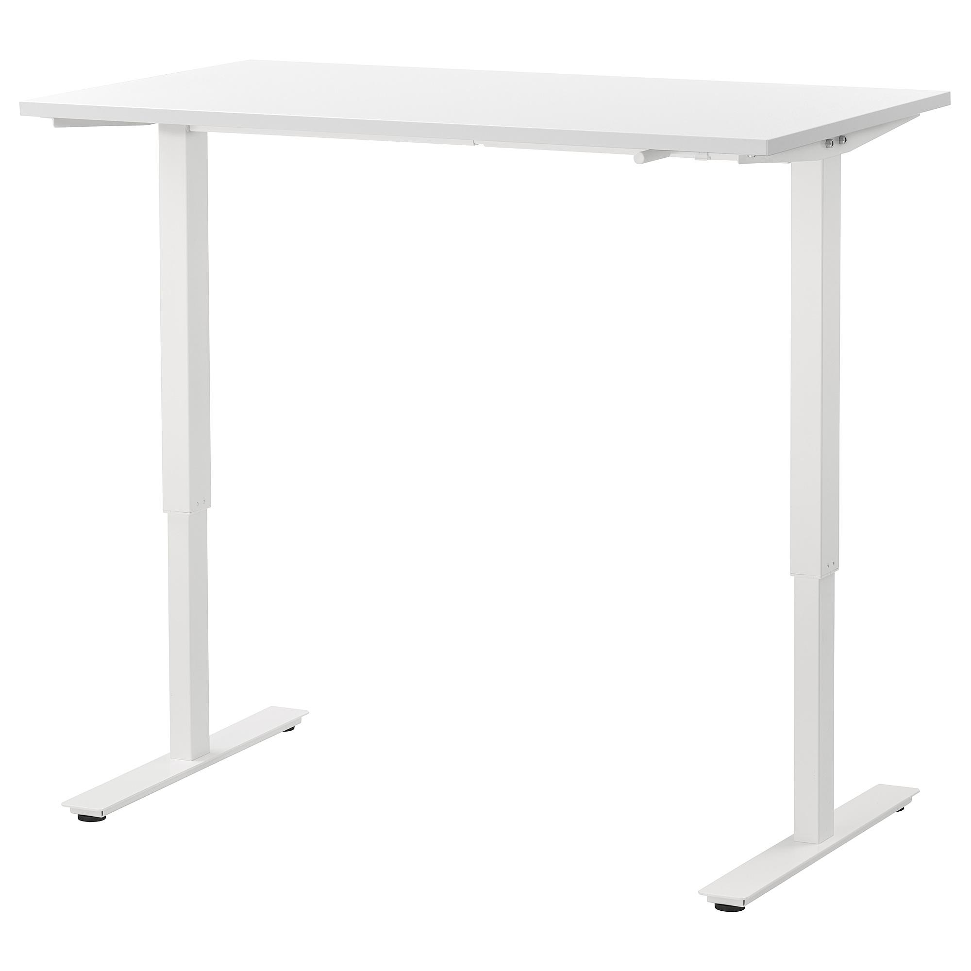 SKARSTA Escritorio sentadode pie blanco   Ikea