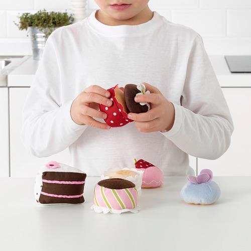 DUKTIG pasteles de juguete, 4 piezas