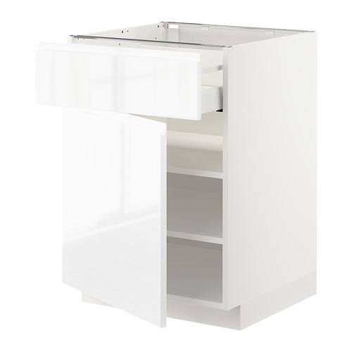 METOD/MAXIMERA armario bajo cocina con cajón estantes y puerta