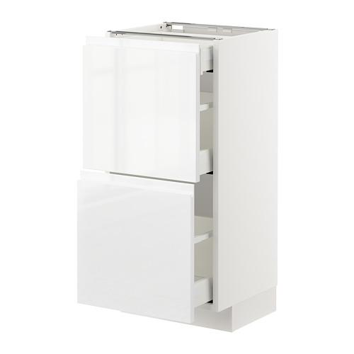 METOD/MAXIMERA armario bajo cocina con  cajones