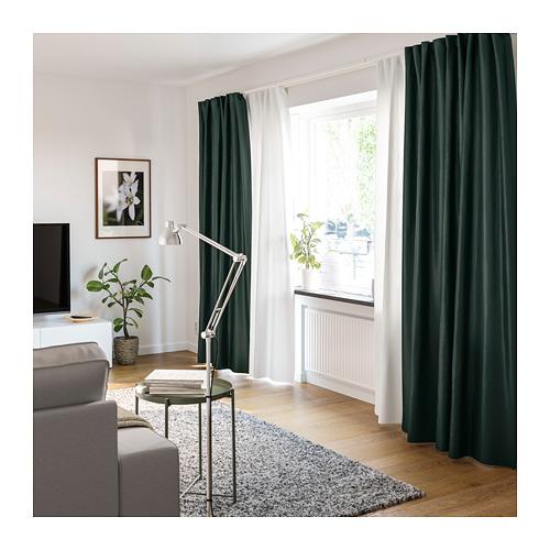 VIDGA riel de cortina de 1 raíl