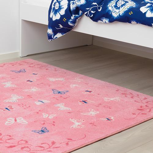 SÅNGLÄRKA alfombra, 133x160cm