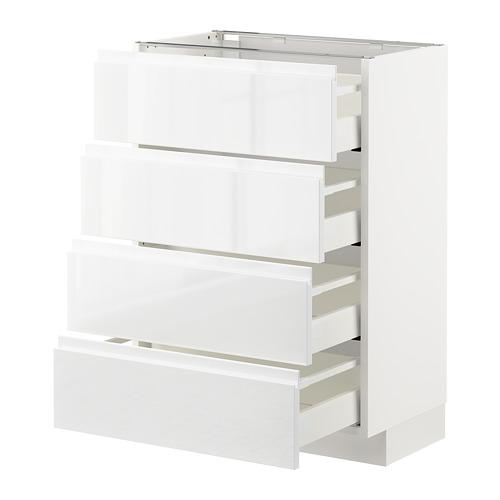 METOD armario bajo cocina con  cajones