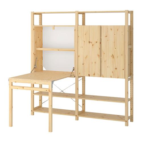 IVAR 2 módulo/almacenaje +mesa plegable