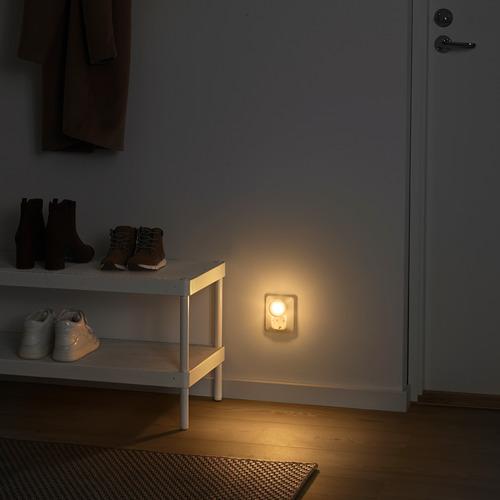 MÖRKRÄDD lámpara noche LED con sensor