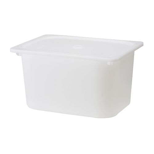 TROFAST caja con tapa