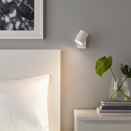 NYMÅNE aplique/lámpara lectura instal fija
