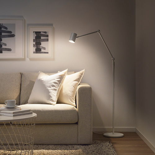 NYMÅNE lámpara de pie/lectura