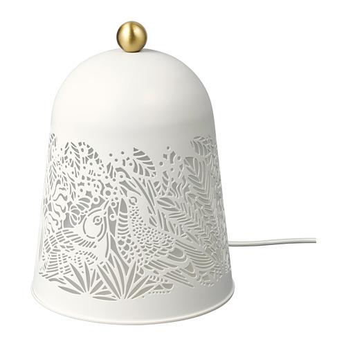 SOLSKUR lámpara de  mesa LED integrada