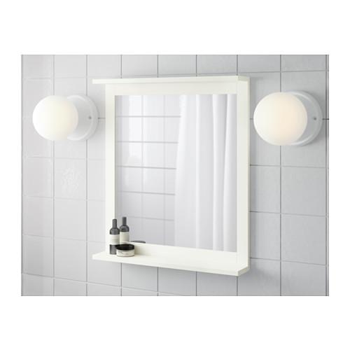 SILVERÅN espejo con estante