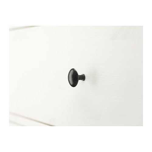 HEMNES cómoda vertical de 6 cajones, 108x50x131cm