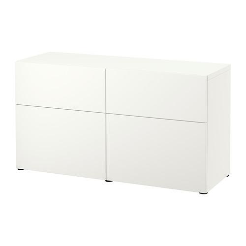 BESTÅ combinación almacenaje con 2 puertas y 2 gavetas