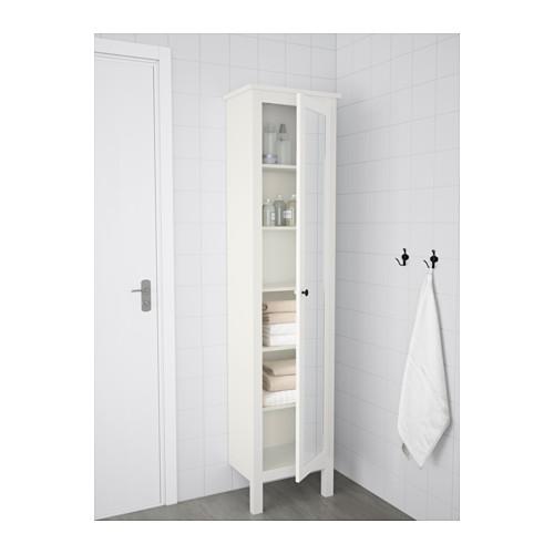 HEMNES armario alto con espejo