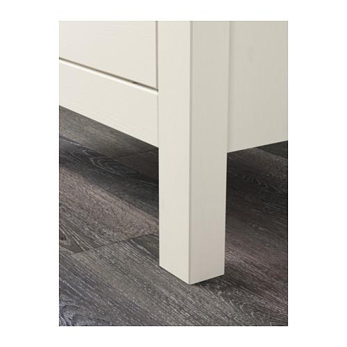 HEMNES cómoda vertical de 2 cajones, 54x38x66cm