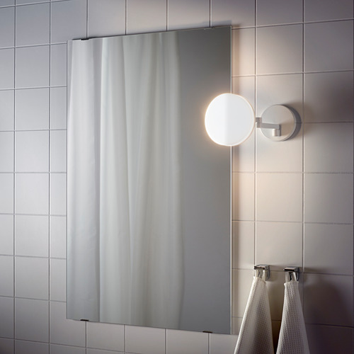 SVALLIS lámpara pared LED brazo pivotante