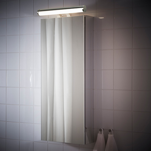 ÖSTANÅ lámpara led integrada de baño para armario de pared