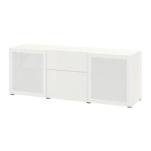 BESTÅ combinación mueble con 2 puertas y 2 cajones