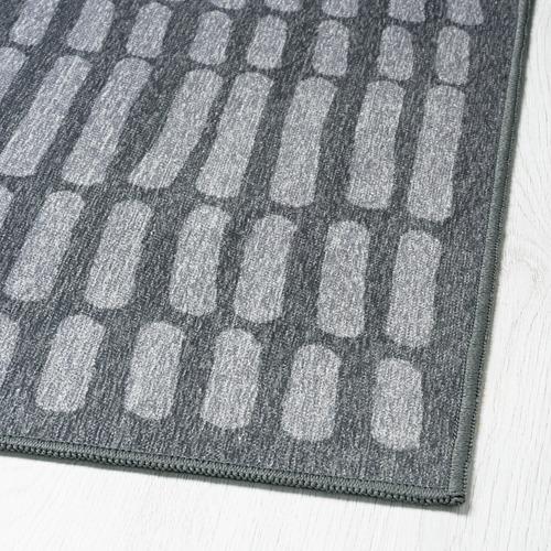 OMTÄNKSAM alfombra, lisa, 133x195cm