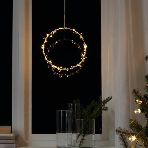 STRÅLA lámpara techo LED, 27cm de diámetro