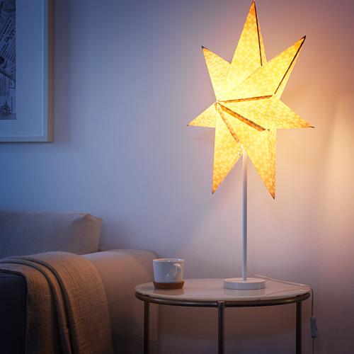 STRÅLA pie de lámpara de mesa, 48cm de altura