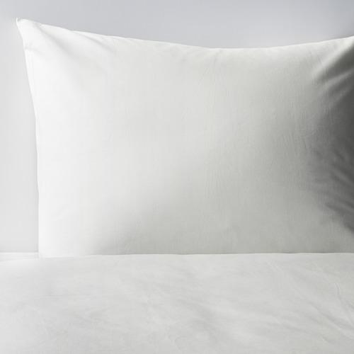 DVALA funda nórdica  y 2 fundas almohada, 152 hilos, 140-160 y 180cm