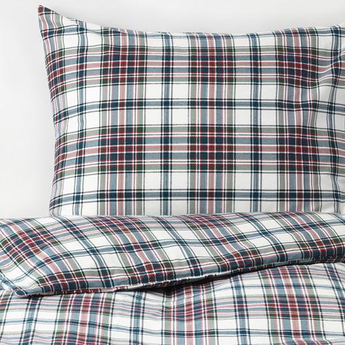 MOSSRUTA funda nórdica y 2 fundas almohada, 86 hilos, 140-160 y 180cm