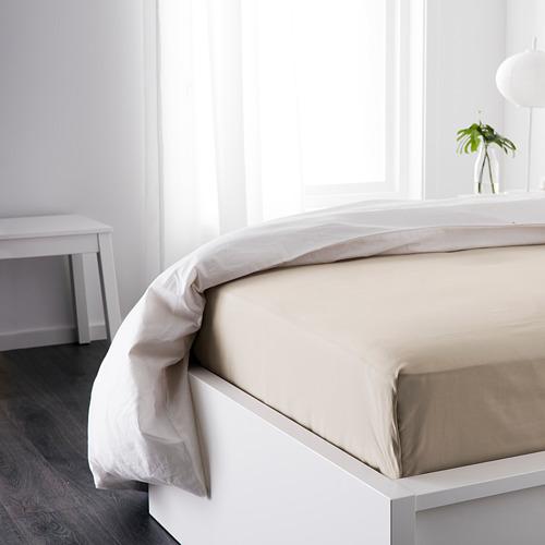 DVALA sábana para cama individual, 152 hilos