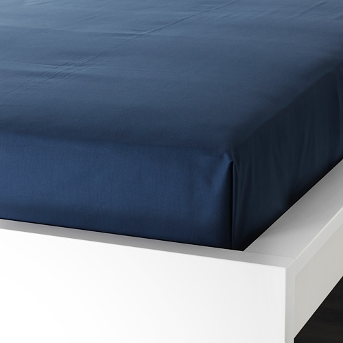 ULLVIDE sábana, 200 hilos, 80-90cm