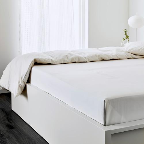 ULLVIDE sábana para cama doble, 200 hilos