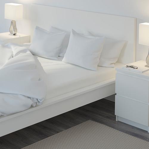 NATTJASMIN sábana bajera ajustable, 310 hilos, 160cm