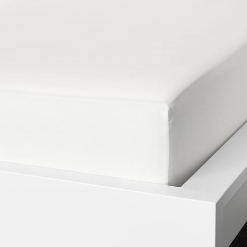 NATTJASMIN sábana bajera ajustable, 310 hilos, 140cm