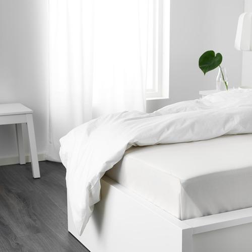 NATTJASMIN sábana, 310 hilos, 80-90cm