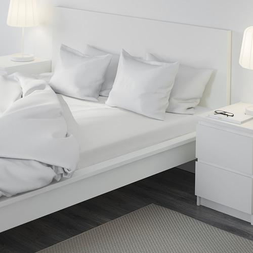 DVALA sábana bajera ajustable, 180x200cm, 152 hilos