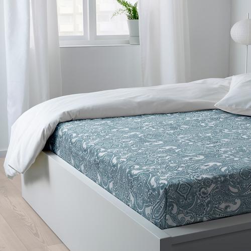JÄTTEVALLMO sábana, 152 hilos, 140-160 y 180cm