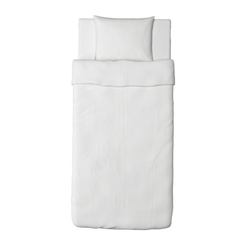 DVALA funda nórdica y funda almohada, 152 hilos, 80 y 90cm