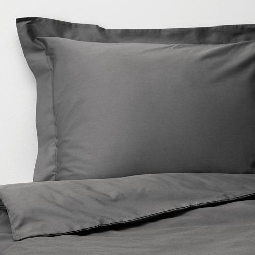 LUKTJASMIN funda nórdica y funda almohada, 310 hilos, 80 y 90cm